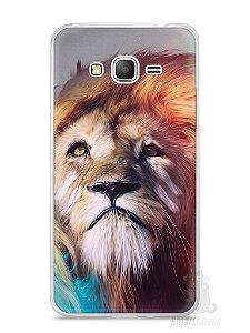Capa Samsung Gran Prime Leão Pintura