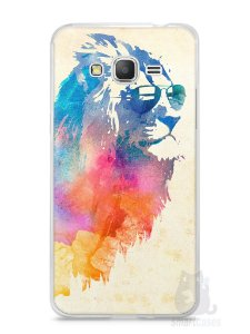 Capa Samsung Gran Prime Leão Colorido #2