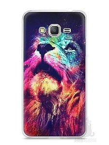 Capa Samsung Gran Prime Leão Colorido #3