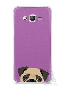 Capa Samsung Gran Prime Cachorro Pug