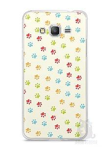 Capa Samsung Gran Prime Patinhas Coloridas #2