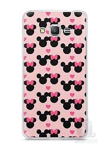 Capa Samsung Gran Prime Mickey e Minnie