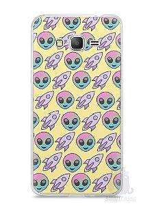 Capa Samsung Gran Prime Aliens e Foguetes