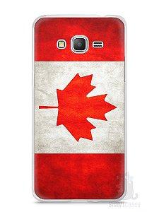 Capa Samsung Gran Prime Bandeira do Canadá