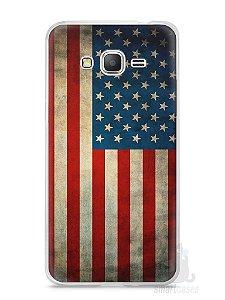 Capa Samsung Gran Prime Bandeira EUA