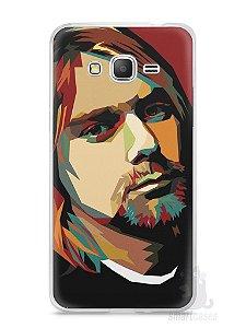 Capa Samsung Gran Prime Kurt Cobain