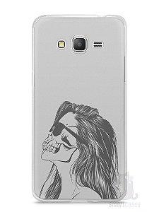 Capa Samsung Gran Prime Mulher Caveira