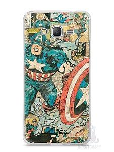 Capa Samsung Gran Prime Capitão América Comic Books #1