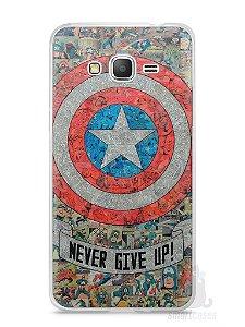 Capa Samsung Gran Prime Capitão América Comic Books #3