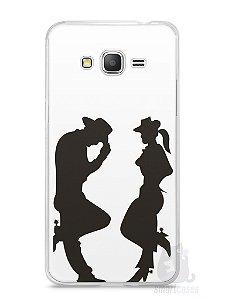 Capa Samsung Gran Prime Cowboy e Cowgirl