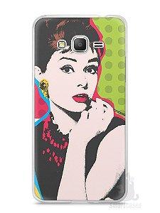 Capa Samsung Gran Prime Audrey Hepburn #3