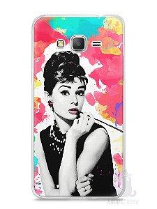 Capa Samsung Gran Prime Audrey Hepburn #5