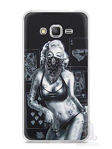 Capa Samsung Gran Prime Marilyn Monroe #3