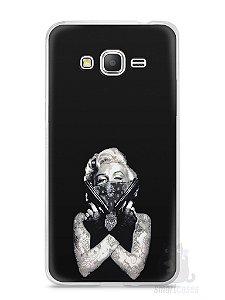 Capa Samsung Gran Prime Marilyn Monroe #5