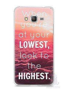 Capa Samsung Gran Prime Frase #1