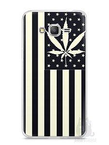 Capa Samsung Gran Prime Maconha Bandeira EUA