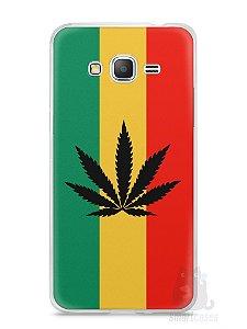 Capa Samsung Gran Prime Rasta Weed #2