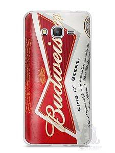 Capa Samsung Gran Prime Cerveja Budweiser
