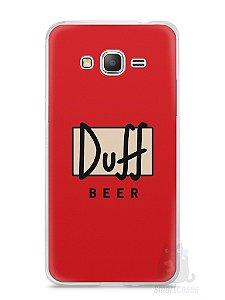 Capa Samsung Gran Prime Cerveja Duff