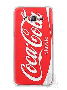 Capa Samsung Gran Prime Coca-Cola