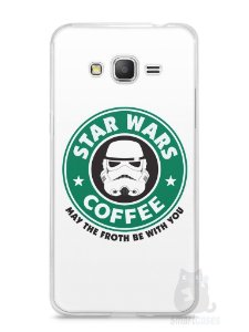 Capa Samsung Gran Prime Star Wars Coffee