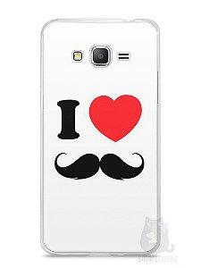 Capa Samsung Gran Prime I Love Bigode #1