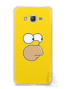 Capa Samsung Gran Prime Homer Simpson Face