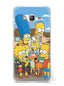 Capa Samsung Gran Prime Família Simpsons #1