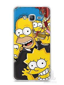 Capa Samsung Gran Prime Família Simpsons #2