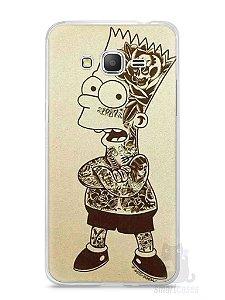 Capa Samsung Gran Prime Bart Simpson Tatuado