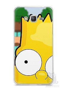 Capa Samsung Gran Prime Bart Simpson Face
