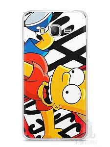 Capa Samsung Gran Prime Bart Simpson Duff