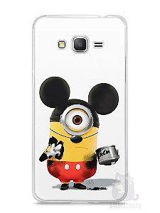 Capa Samsung Gran Prime Minions Mickey Mouse