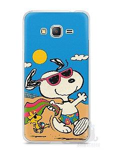 Capa Samsung Gran Prime Snoopy #1