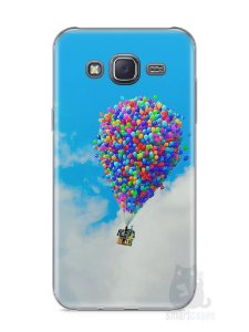 Capa Samsung J5 Balões
