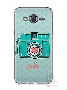 Capa Samsung J5 Câmera Fotográfica
