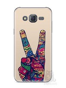 Capa Samsung J5 Paz e Amor