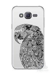 Capa Samsung J5 Arara Artística