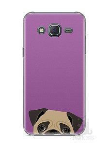 Capa Samsung J5 Cachorro Pug