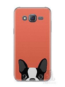 Capa Samsung J5 Cachorro Bulldog Francês #1