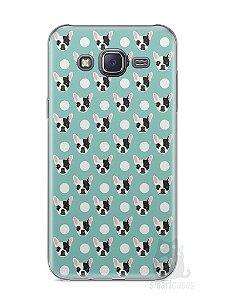 Capa Samsung J5 Cachorros Bulldog Francês