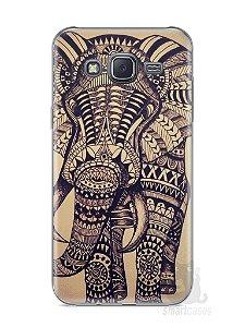 Capa Samsung J5 Elefante Tribal