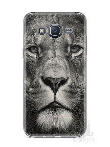 Capa Samsung J5 Leão Face