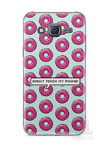 Capa Samsung J5 Donut Touch My Phone