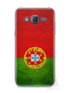 Capa Samsung J5 Bandeira de Portugal