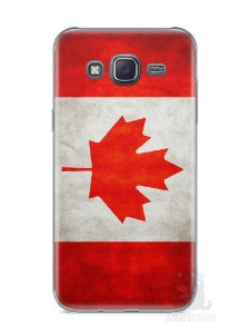 Capa Samsung J5 Bandeira do Canadá