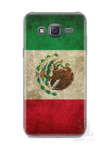 Capa Samsung J5 Bandeira do México