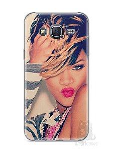 Capa Samsung J5 Rihanna #1