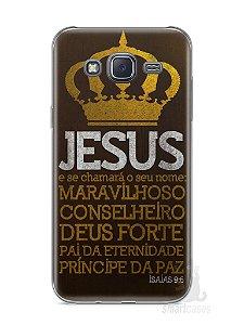 Capa Samsung J5 Jesus #4