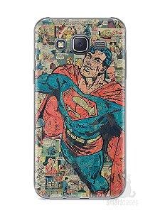 Capa Capinha Samsung J5 Super Homem Comic Books